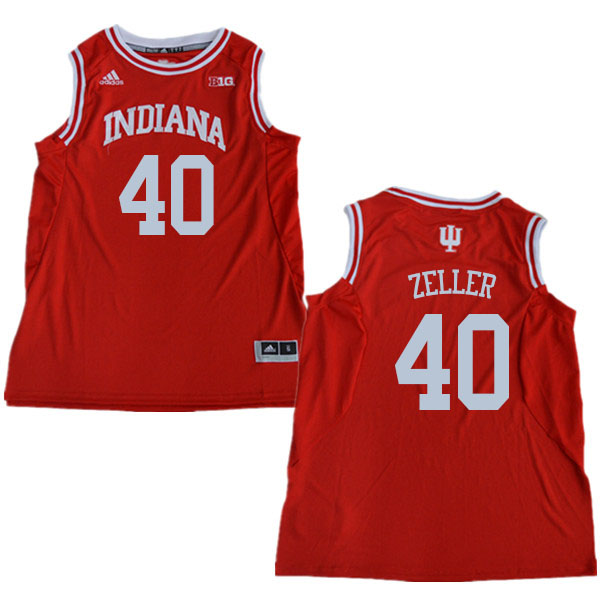 Men #40 Cody Zeller Indiana Hoosiers College Basketball Jerseys Sale-Red