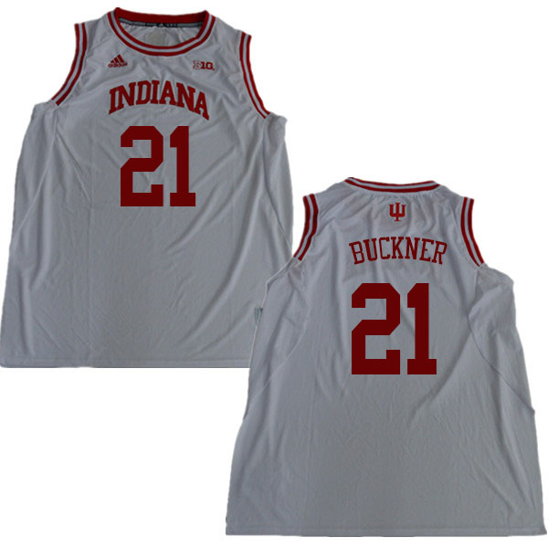 Men  21 Quinn Buckner Indiana Hoosiers College Basketball Jerseys Sale-White 1f909475b