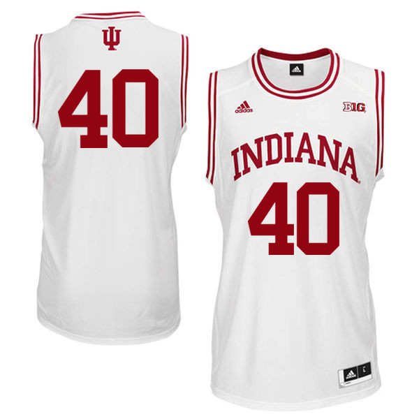 Men Indiana Hoosiers #40 Calbert Cheaney College Basketball Jerseys Sale-White