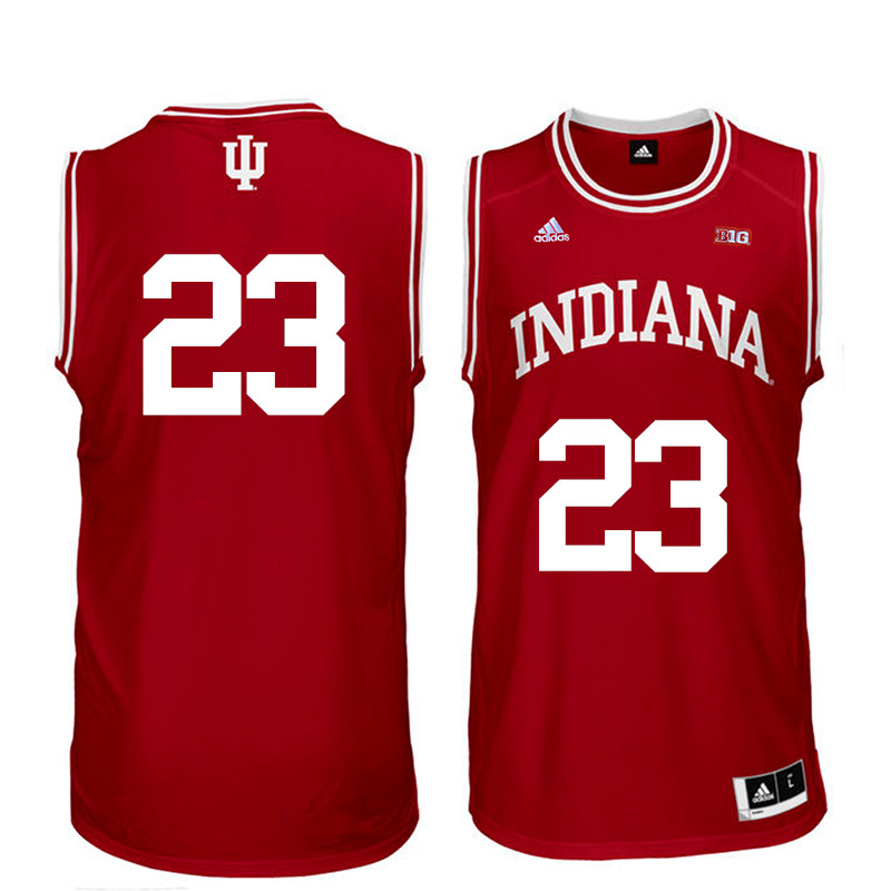 Men Indiana Hoosiers #23 Eric Gordon College Basketball Jerseys Sale-Red