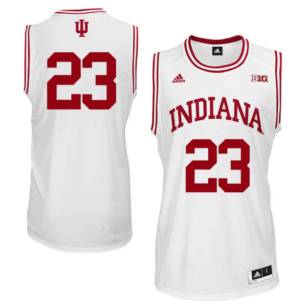 Men Indiana Hoosiers #23 Eric Gordon College Basketball Jerseys Sale-White