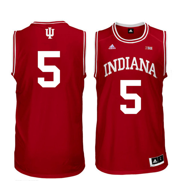 Men Indiana Hoosiers #22 Quentin Taylor College Basketball Jerseys Sale-Red