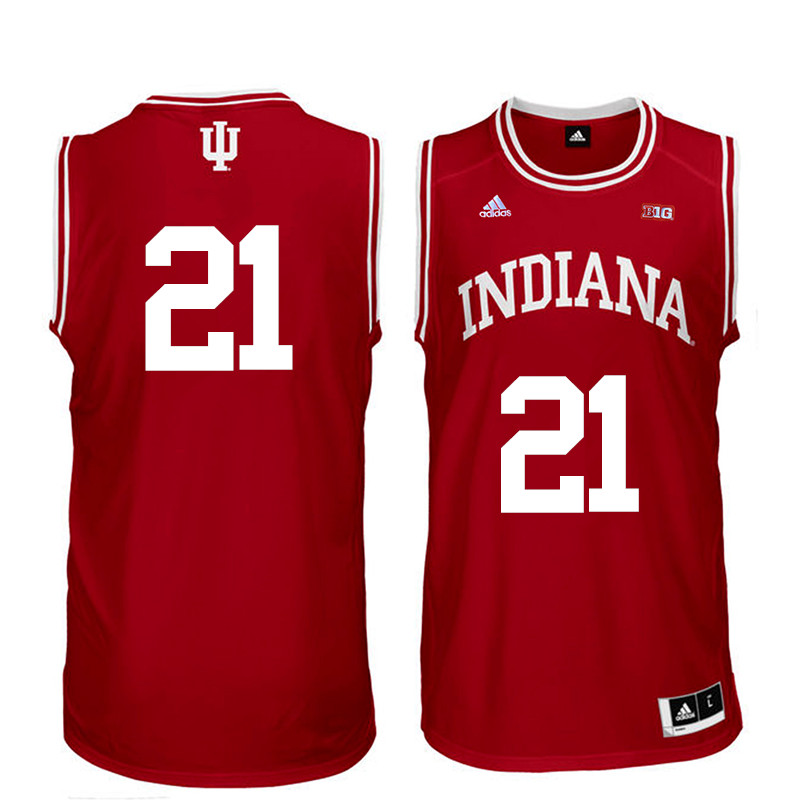 Men Indiana Hoosiers #21 Quinn Buckner College Basketball Jerseys Sale-Red