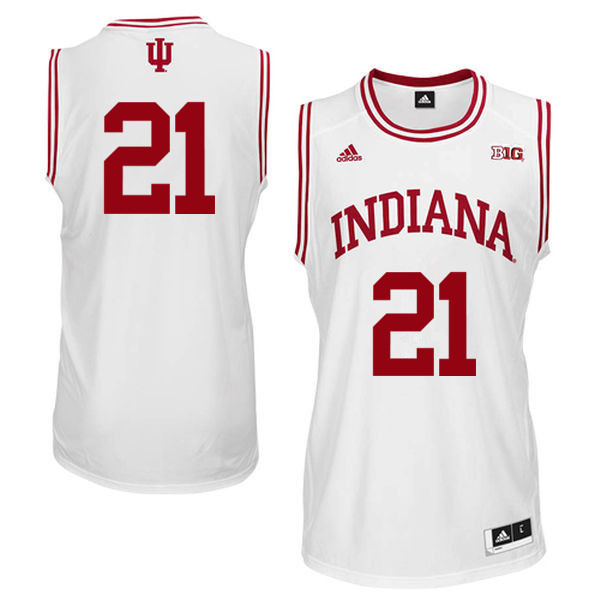 Men Indiana Hoosiers #21 Quinn Buckner College Basketball Jerseys Sale-White