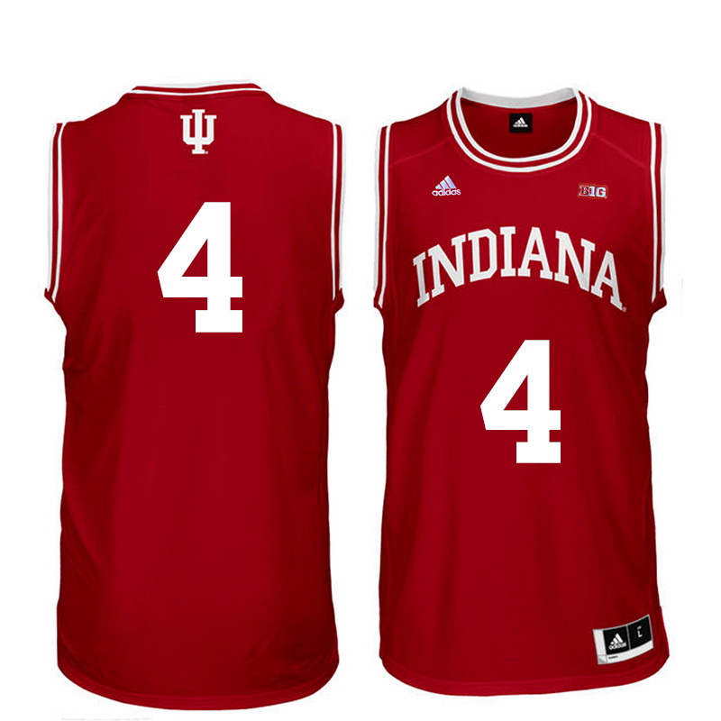Men Indiana Hoosiers #4 Victor Oladipo College Basketball Jerseys Sale-Red
