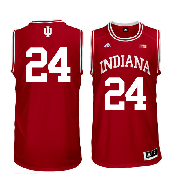 Men Indiana Hoosiers #24 Vijay Blackmon College Basketball Jerseys Sale-Red