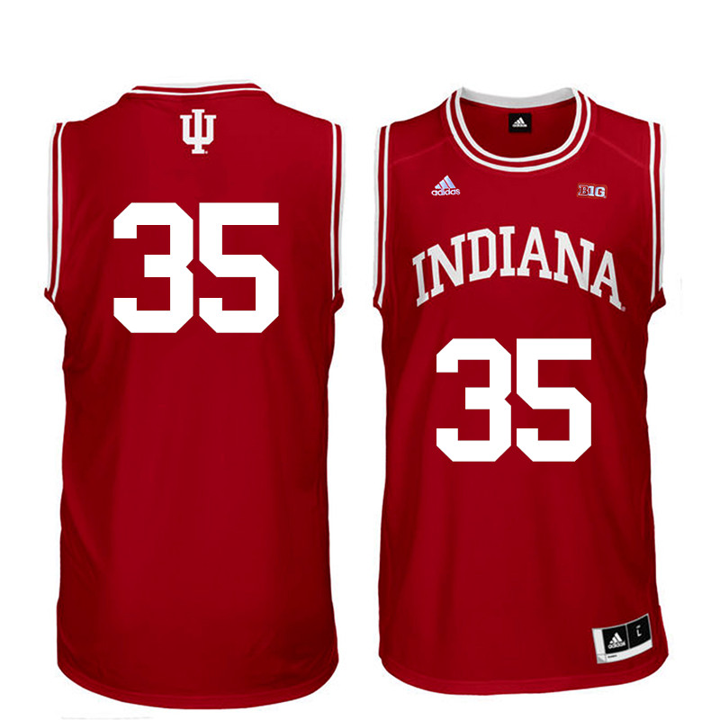 Men Indiana Hoosiers #35 Walt Bellamy College Basketball Jerseys Sale-Red