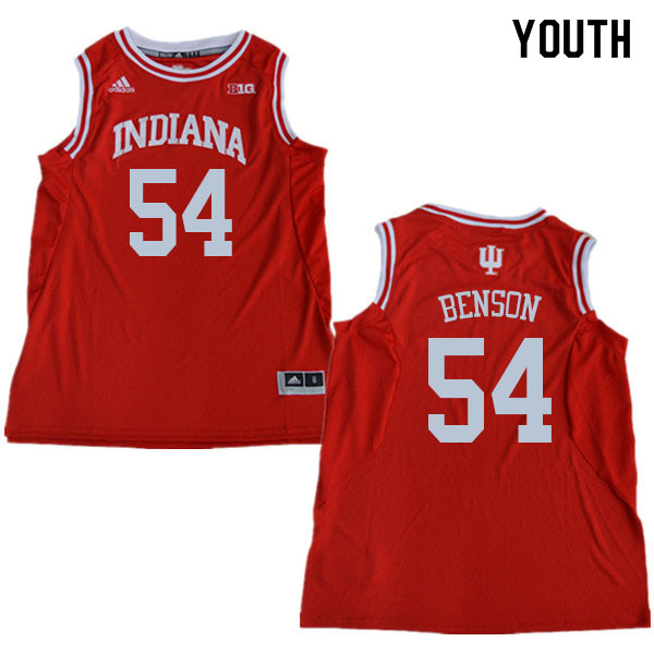 Youth #54 Kent Benson Indiana Hoosiers College Basketball Jerseys Sale-Red